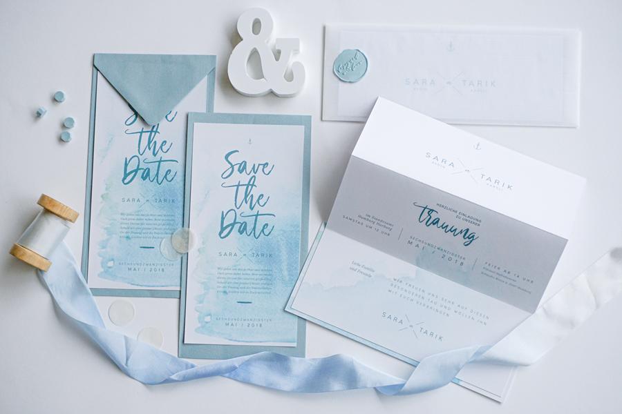 paperloveink hochzeitspapeterie einladung save-the-date