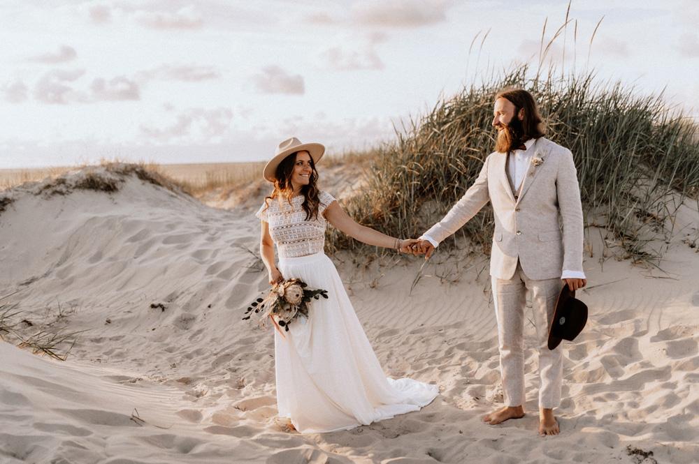 paperloveink Boho Vintage Beach Hochzeit Papeterie